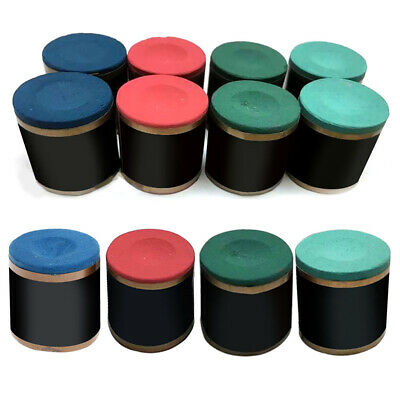 2PC Rubber Chalk Holder for Billiard Pool Snooker Table Parts Cue Stick Club T3