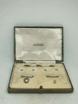 Antique Early Austin Reed Regent Street London Cufflink Stud Button Box 21 99 Picclick Uk