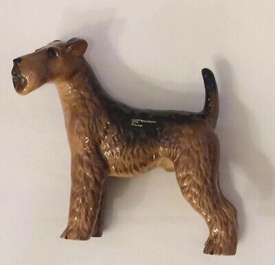 """World of Dogs Airedale Terrier Figurine 2.5/"""" Resin #4953"""