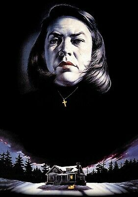 MISERY Movie PHOTO Print POSTER Textless Film Art Kathy Bates Rob Reiner 001