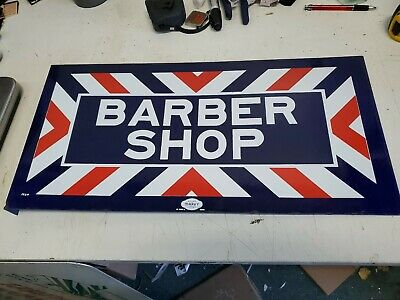 "Vintage Style Battery Operated Double Sided 30/"" Barber Shop Marquee LED Sign"