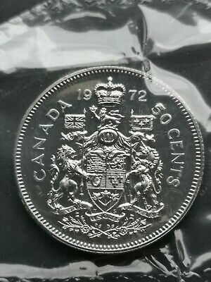*** CANADA  50  CENTS  1969  ***  PROOF  LIKE  ***  SEALED  COIN  ***