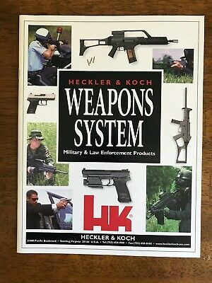 HECKLER /& KOCH HK WEAPONS SYSTEM Military /& LAW ENFORCEMENT Products CATALOG