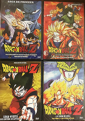 Dragon Ball Dvd Saga Vegeta Majim Buu Freezer Cell Español Latino 285 Capitulos 28 14 Picclick Uk