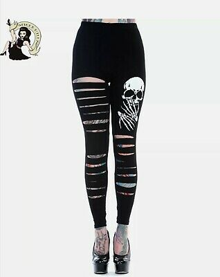FRANKENSTEIN /& BRIDE Banned Women/'s Leggings XS XXXL