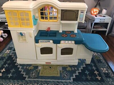 Little Tikes Victorian Country Kitchen Table Play Food Lot Tykes Pick Up Nj 80 00 Picclick