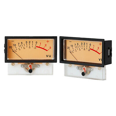 TR-57 VU Panel Meters DB Level Header Detectors Chassis w Backlight