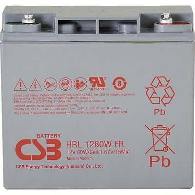 Csb battery hrl 1280w high-rate longlife hrl1280w-fr batteria al piombo 12 v 20