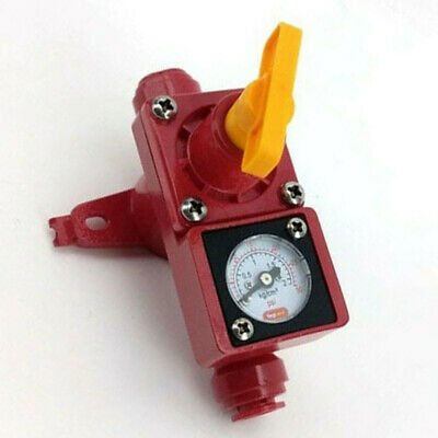 1pc Beer Making Inline In Line Regulator With Integrated Gauge For Water//Gas