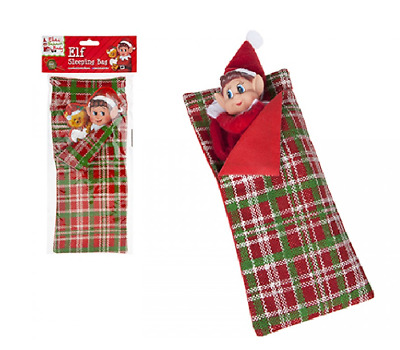 ELF SLEEPING BAG Accessories Props Ideas Kit Games Christmas Decoration Naughty