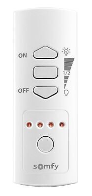 Somfy Remote Control On/Off Socket, White, 2401367 5-channel RTS remote control