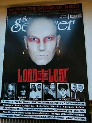 Sonic Seducer Magazin ohne CD, wie neu, Sisters Of Mercy, Marilyn Manson, ASP