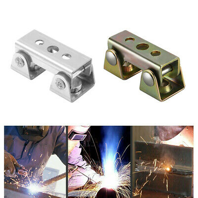 Magnetic Welding Clamps V Pads Holder Strong Welder Hand Tool Gold Silver HL