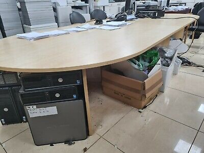 Boardroom Table And Chairs Set 4m Length Excellent Price Brand New 1 674 99 Picclick Uk