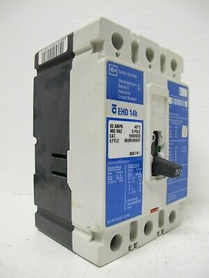 Westinghouse EHD3030 CIRCUIT BREAKER 30 AMPS *USED* EHD 3030 Warranty EHD-3030