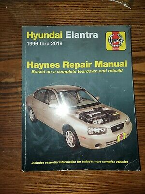 1996-2019 hyundai elantra haynes repair service workshop manual book guide  3491 - $26.20 | picclick  picclick