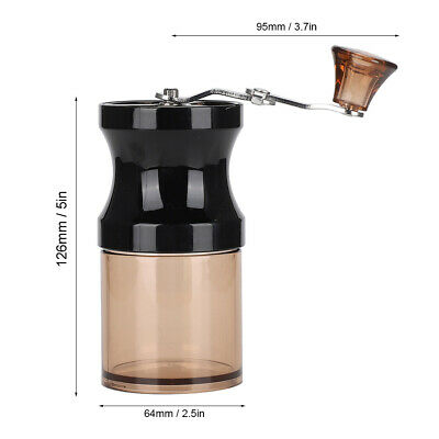 Household Detachable Portable Manual Coffee Mill Grinder Hand Crank Kitchen HG