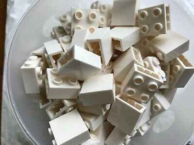 Lego 50 New Tan Bricks Modified 1 x 2 with Studs on 1 Side Pieces