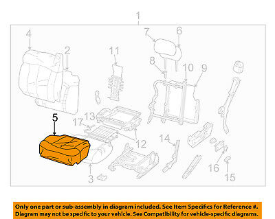 GM OEM Front Seat-Cushion Bottom Cover Left 89027081