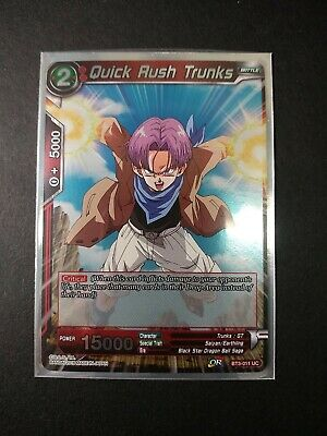Dragonball Super Red Quick Rush Trunks BT3-011 UC