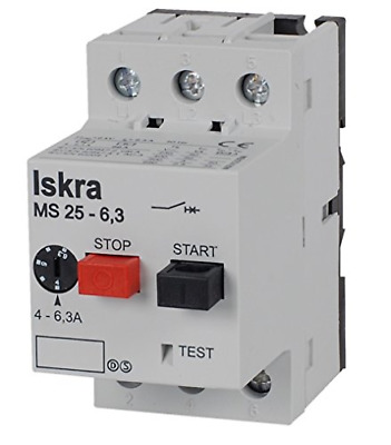 Iskra MS25-25 20 Amps to 25 Amps Motor Protection Switch