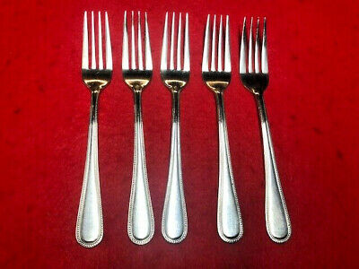 English Silverplated Sheffield EPNS A90 Forks set of 6