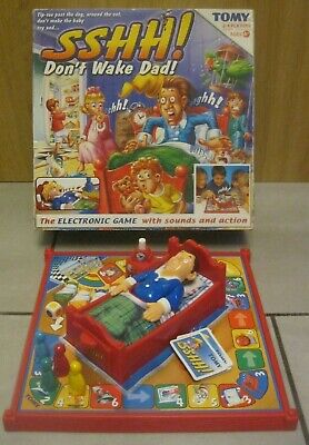 Sshh Don/'t Wake Dad Game Spares Parts Playing Pieces Dad Colour Dice