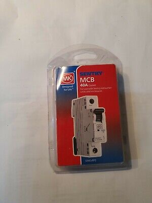 MK sentry mcb 16A type B Miniature curcuit breaker BNIB fast and free postage