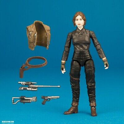 STAR WARS Jyn Erso BLACK SERIES COLLECTION TBS TVC VC119 3.75 LOOSE