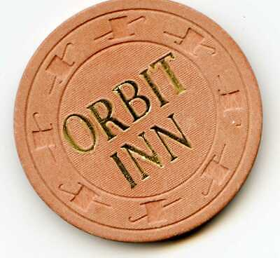 $.10 Cent Chip .Orbit Inn Casino. Las Vegas, NV.