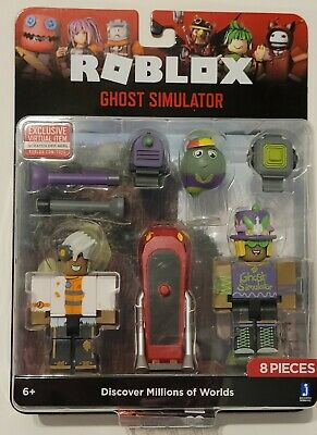 SEALED ROBLOX Celebrity Figure Accessory Virtual Series 8 GHOST SIMULATOR Pack