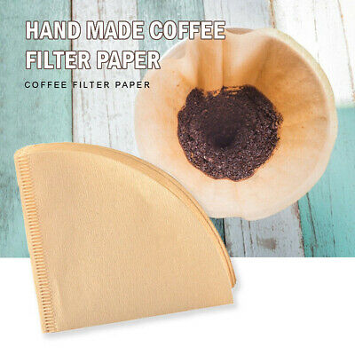 Coffee Filters Size Papers Unbleached Brown Replacement For Machine Maker UK Y