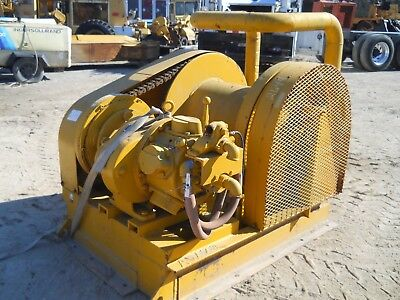 AER 6RF-8P/CD Air Tugger Winch, 10,000 lbs capacity, skid mounted, clean!!!!!!