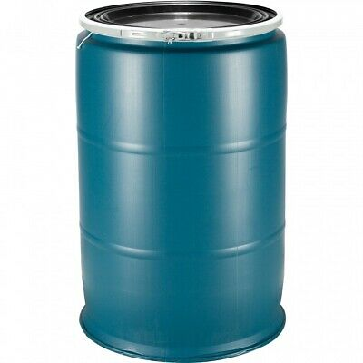 55 Gal Shipping Blue Barrel Open Top - Ship To The Caraïbes/Overseas or Storage