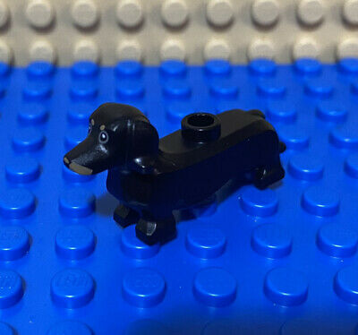 Lego Animal Dog City Friends Part Black Dachshund Lego Store Exclusive