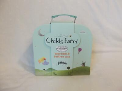 Childs Farm Baby Gifting Suitcase Containing Baby Wash, Bubble Bath, Moisturiser