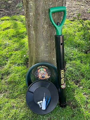 "Gold Panning Gravel Pump/Hand Dredge,12 ""Gold Pan,Prospecting Kit,Must See"