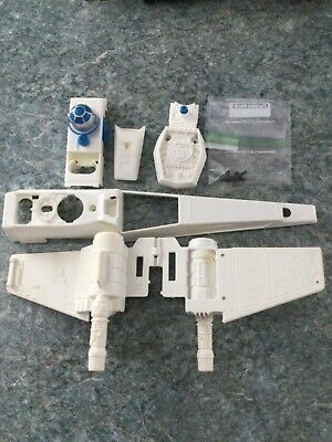 ULTRA LOW WEAR//TEAR PARTS! Assorted Star Wars 1978 X-Wing Fighter PARTS Kenner