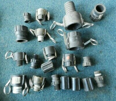 """^B Lot of CAM ACTION COUPLER 2''- 3/4""""B Male FEMALE ADAPTER  NORWESCO CAMLOCK"""