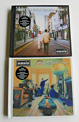 OASIS - Deluxe Editions - DEFINITELY MAYBE & (WHAT'S THE STORY) MORNING GLORY