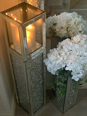 Brand New Extra Large Mirror Floor Standing Candle Holder 109cm 145 00 Picclick Uk