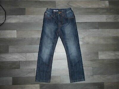 Boy's Next Dark Blue Straight Leg Jeans - Age 4 Years