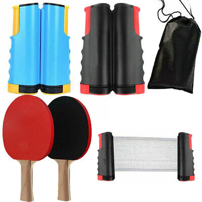 Details about  / Table Tennis Kit Ping Pong Set Portable Retractable Net UK STOCK green