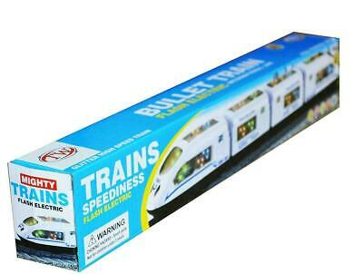 SUPER HIGH SPEED LED BULLET TRAIN FOR KIDS WITH FLASH ELECTRIC TOY MUSIC SOSUNDS