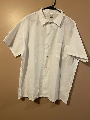 Nwot Chef Trends Shith Whithe Sz Xl