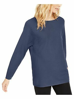 INC Womens Ribbed Jewel Neck Casual Pullover Top Shirt BHFO 8304