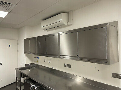 Commercial Stainless Steel Wall Hung Catering Kitchen Cupboard £500 + Vat
