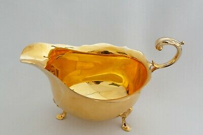 Silver/ Gilt Sauce Boat by James Dixon Sheff. 1971