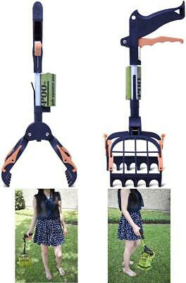 """Dog Pooper Scooper Large for Pets and Cats Heavy Duty 15"""" - 28"""" - 31"""" Pickup"""