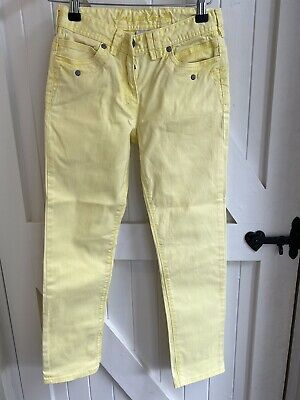Next Girls Pale Yellow Jeans Age 10 Years